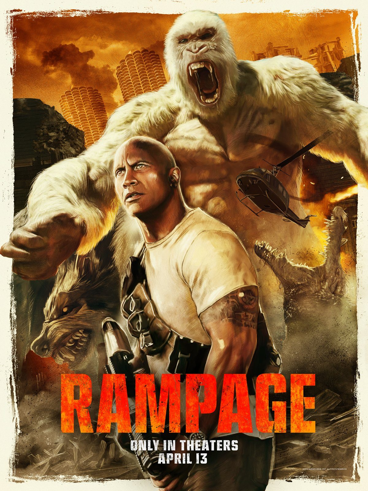 Movie Review Rampage 2018