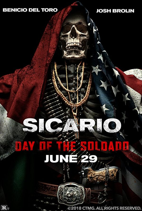 new poster for sicario day of the soldado