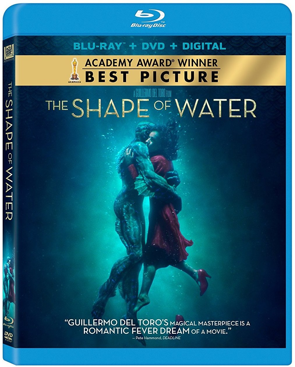 blu ray review  shape  water