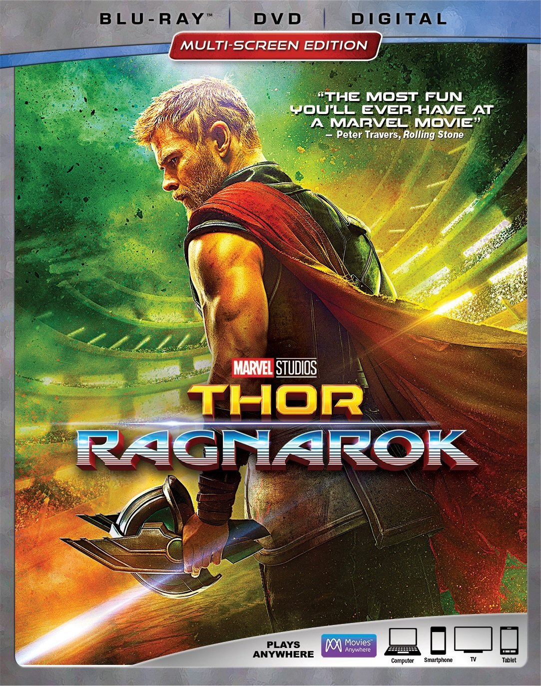 Blu Ray Review Thor Ragnarok 2017