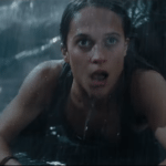 Watch two action-packed clips from Tomb Raider featuring Alicia Vikander's Lara Croft