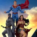 The Trinity stand tall on new DC Collectibles Designer Series statue