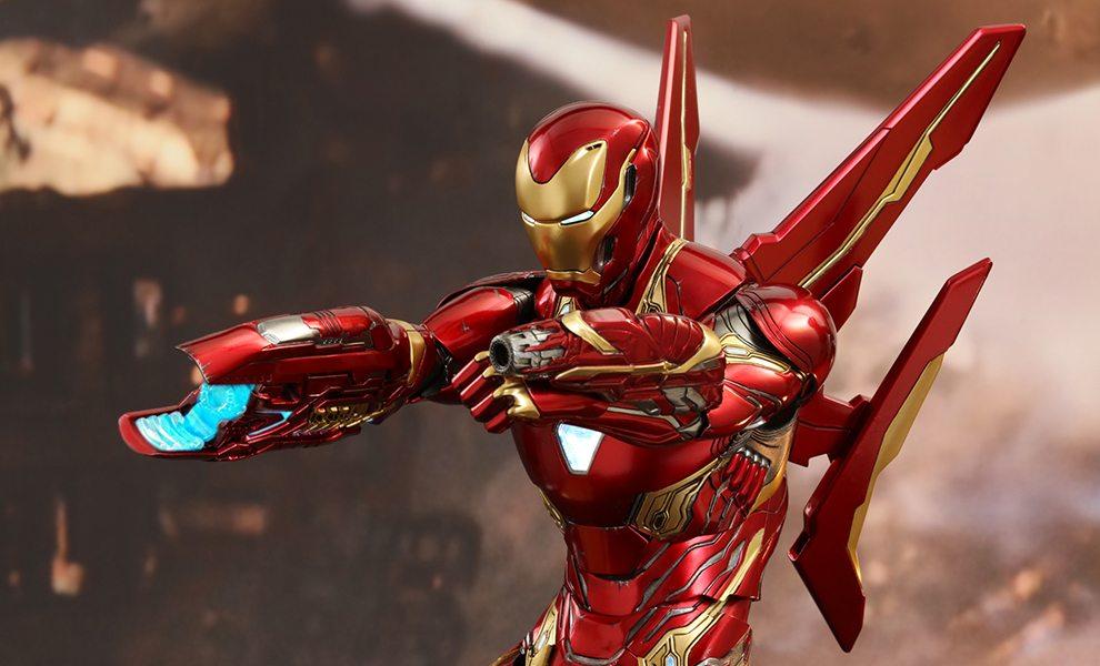 Imà Genes De Iron Man: Hot Toys' Avengers: Infinity War Movie Masterpiece Iron