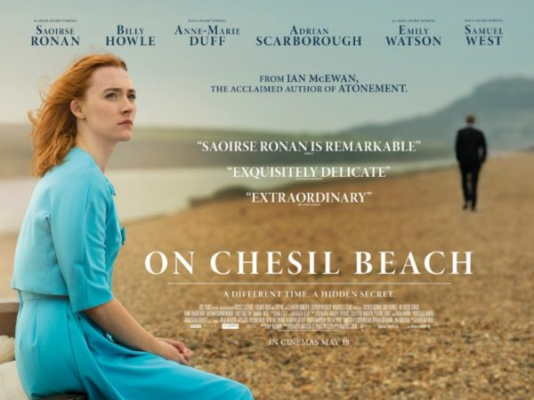 On Chesil Beach (15), Amy Robsart Hall, Syderstone PE31 8SD | This film is a touching adaptation of Ian McEwan's novella. This is the story of Florence and Edward, young university graduates getting married in 1962. | cinema