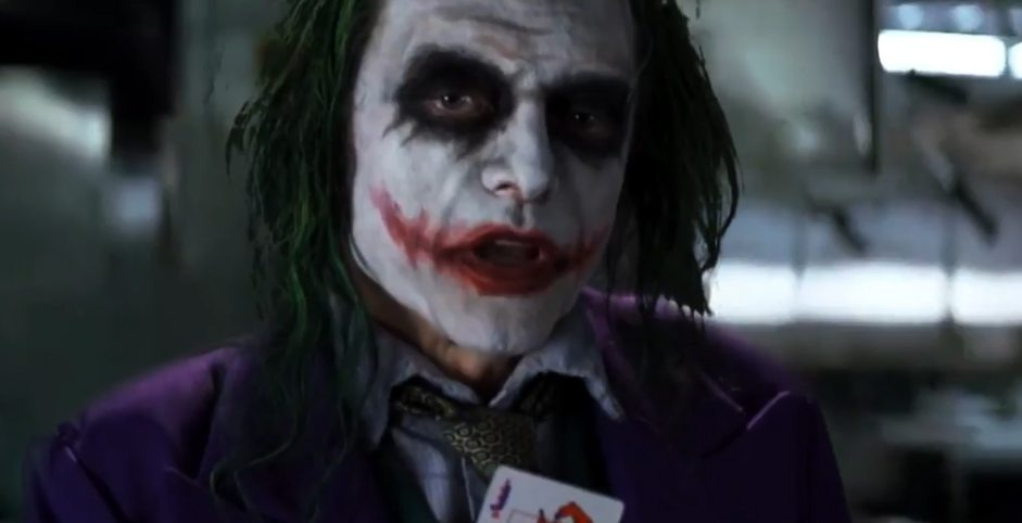 Wiseau Serious? See Tommy Wiseau's Joker edited into The ...