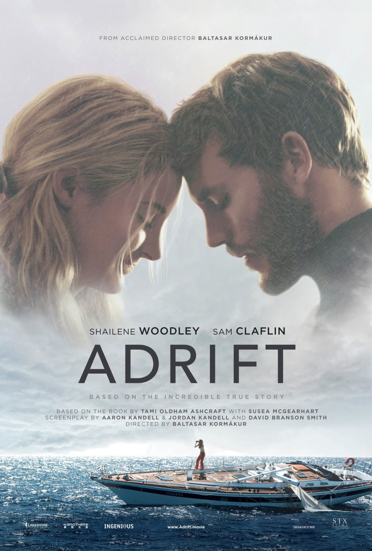 Movie Review - Adrift (2018)