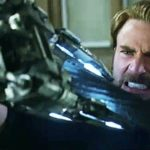 Cap, Falcon and Black Widow battle the Black Order in Avengers: Infinity War clip
