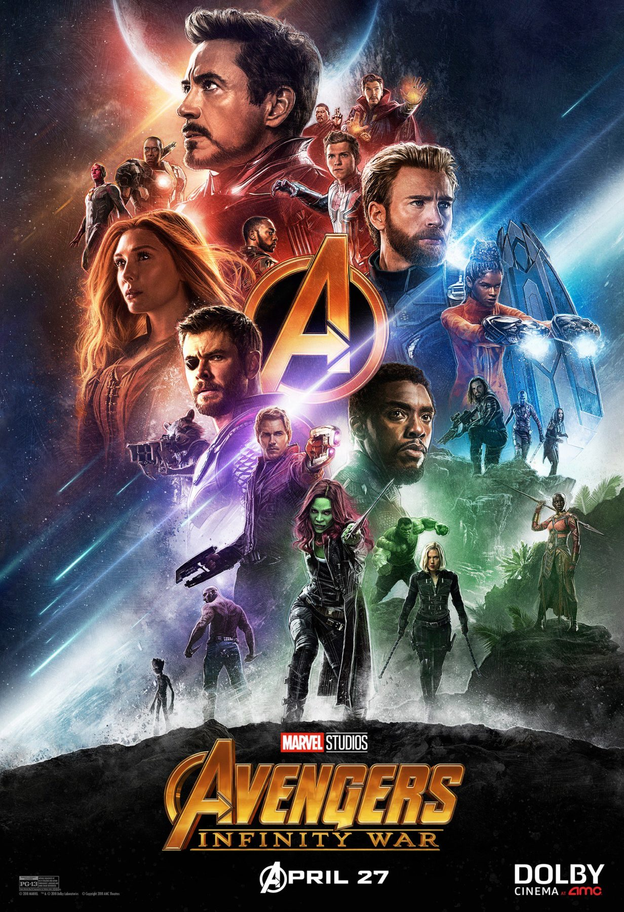 marvel's avengers: infinity war gets two new posters