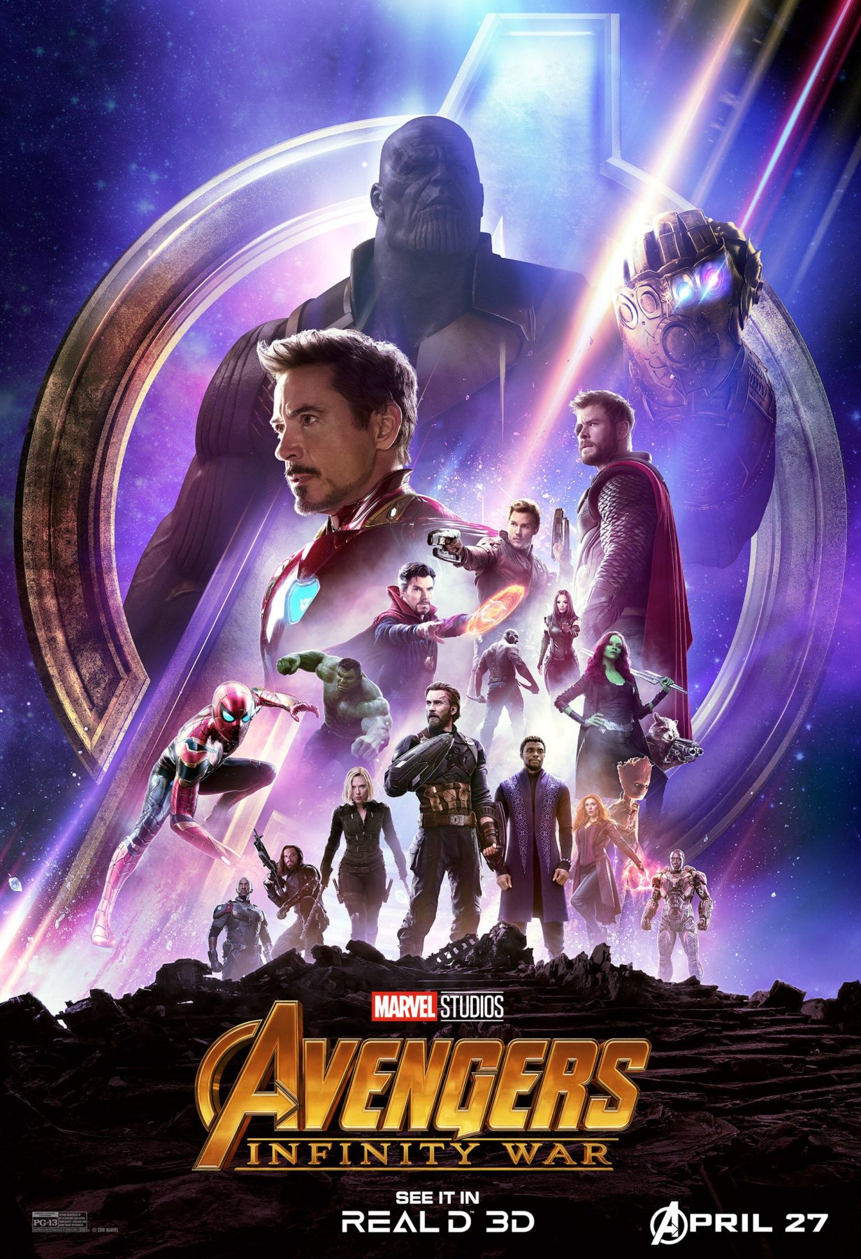 Second Opinion Avengers Infinity War 2018