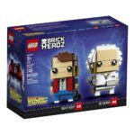 LEGO's Back to the Future Marty McFly and Doc Brown Brickheadz set revealed