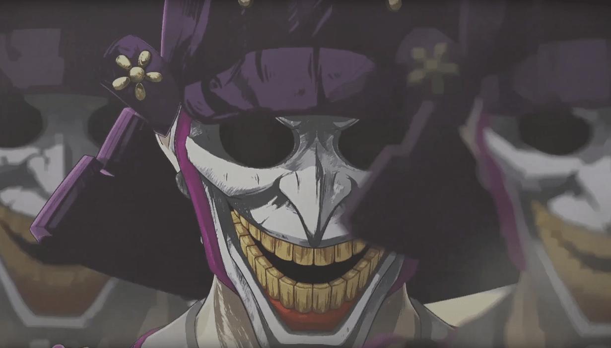 The Dark Knight Battles Joker Samurai In Batman Ninja Clip