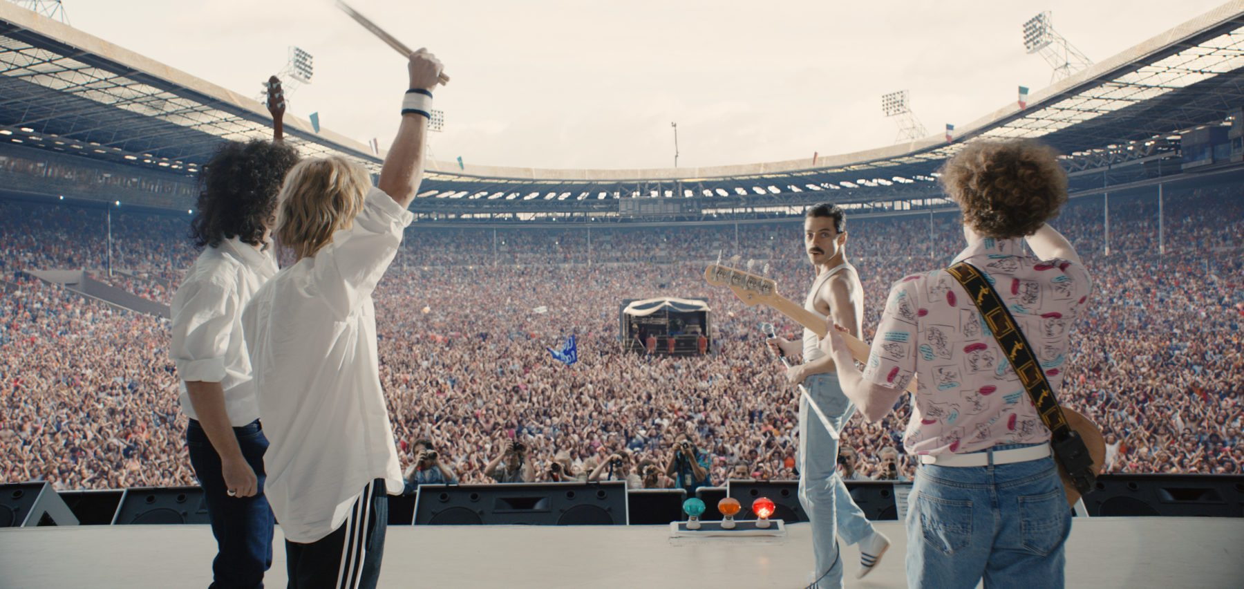 Image result for bohemian rhapsody live aid