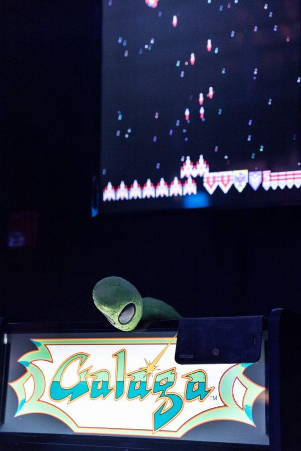 Score Wars Galaga