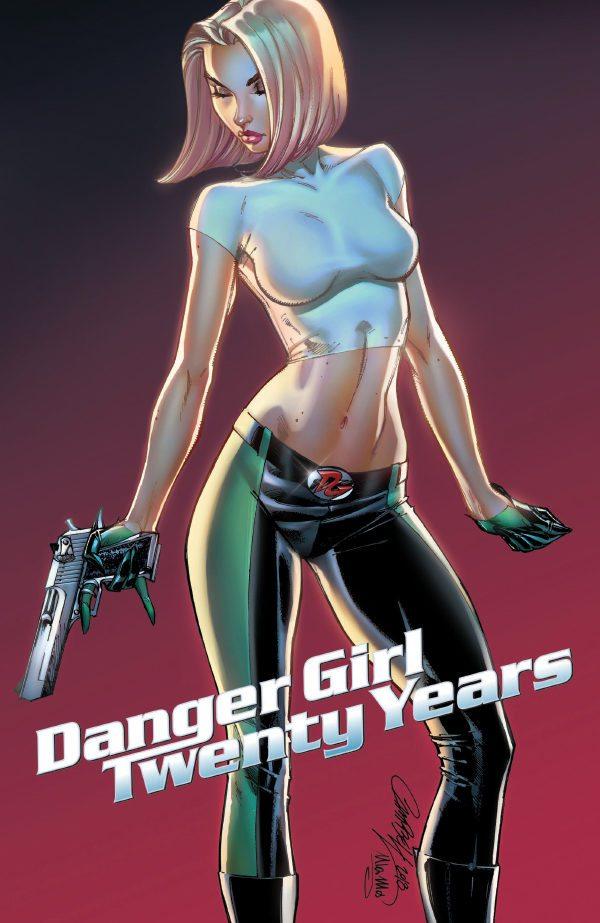 Preview of J. Scott Campbell's Danger Girl: 20th Anniversary