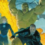 Marvel celebrates the upcoming return of the Fantastic Four with a trailer and cover artwork