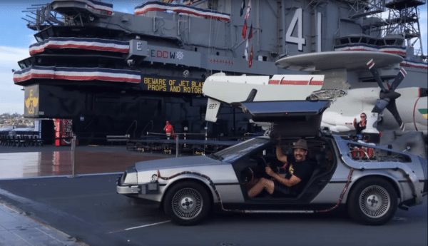 Fastest-DeLorean-trailer-screenshot-2-600x345