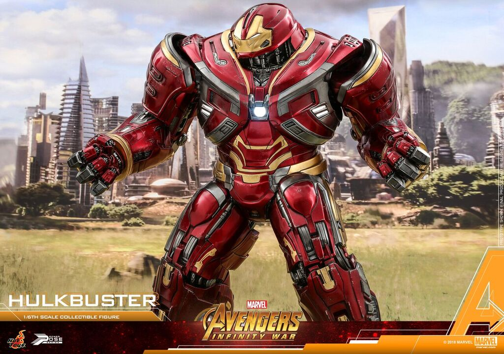 Hot Toys 1 6th Scale Avengers Infinity War Hulkbuster