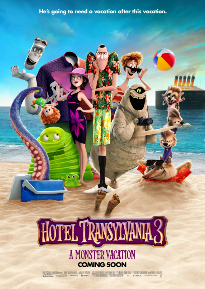 Hotel Transylvania 3 Gets A New Poster