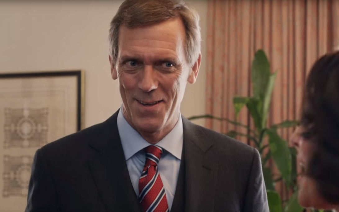 Hugh Laurie joins Geor...