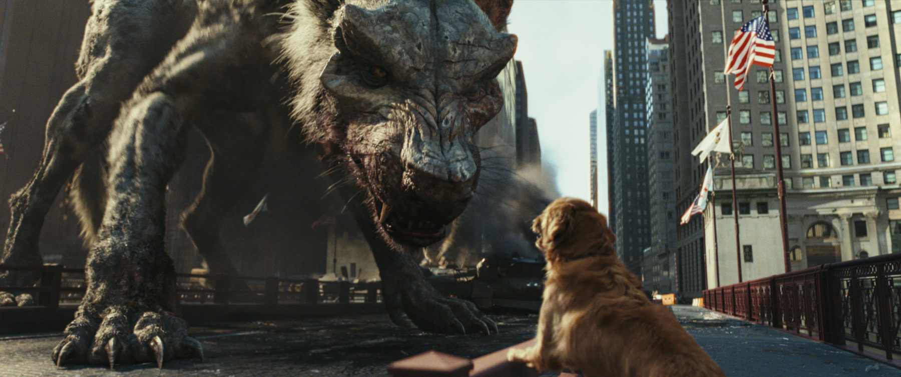 Rampage Gets A Monster Sized Batch Of Images Flickering Myth