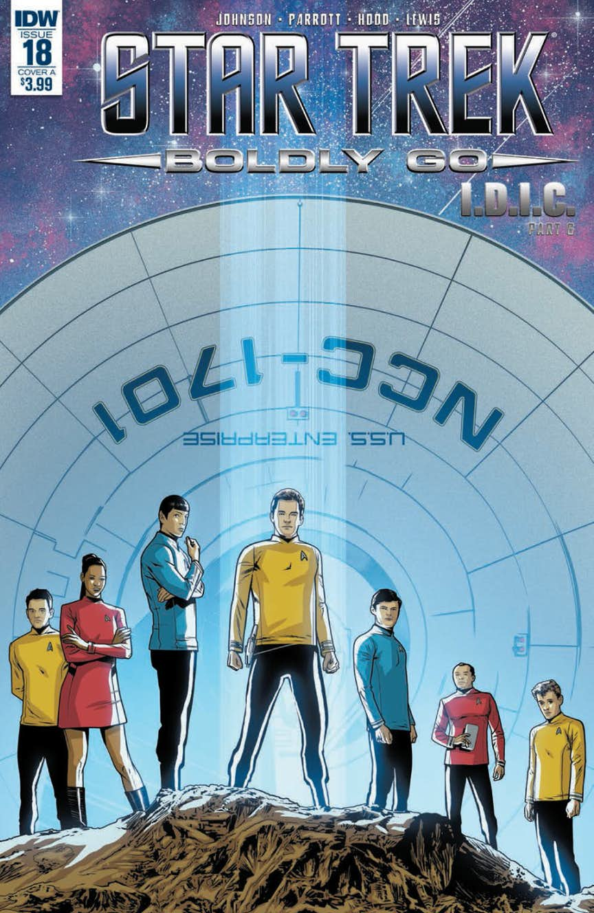 18 Going On 18 Here Are The Interesting Bits: Star Trek: Boldly Go Comes To An End With Issue #18, Check