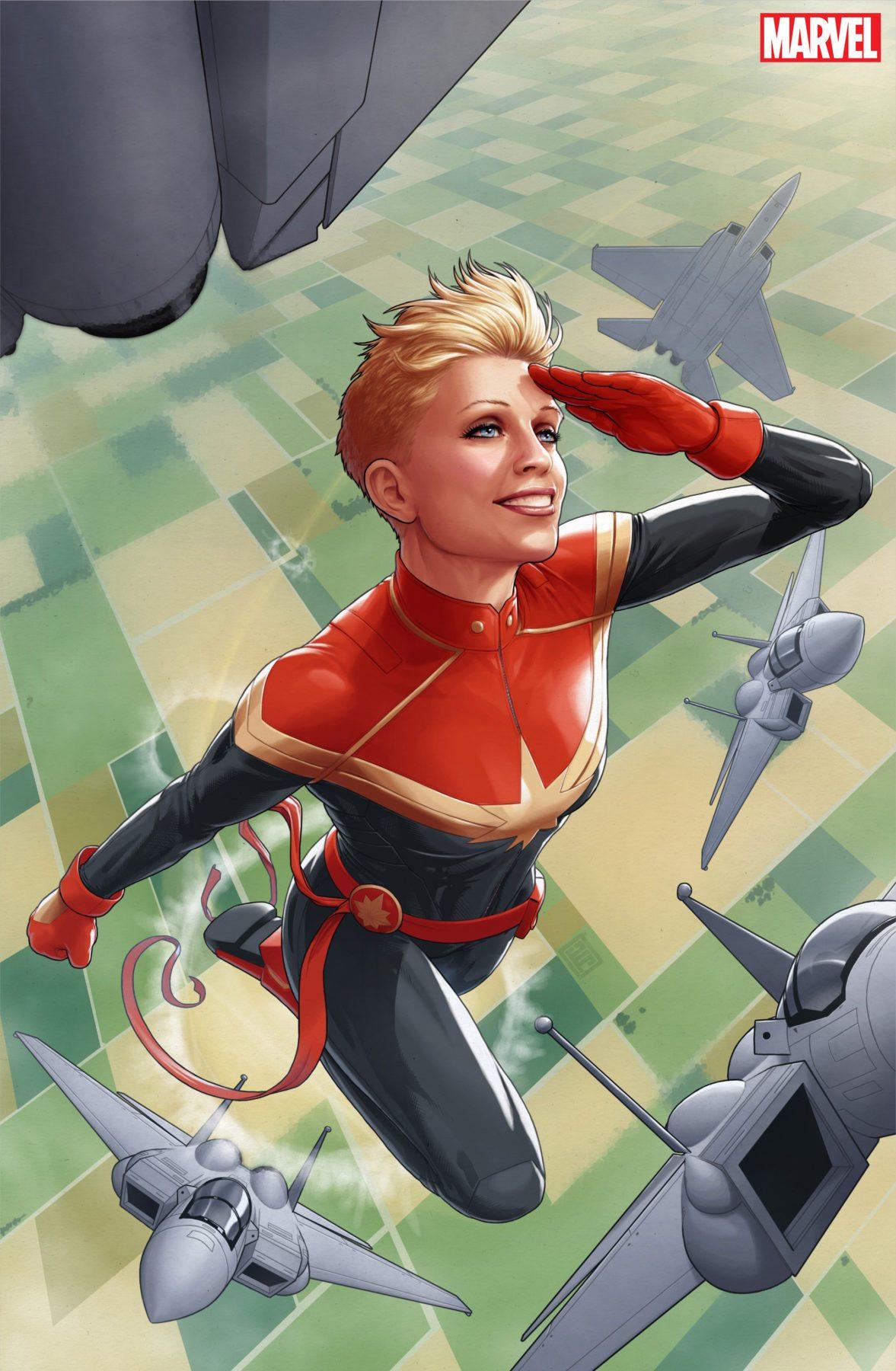 Marvel Celebrates Carol Danvers 50th Anniversary With