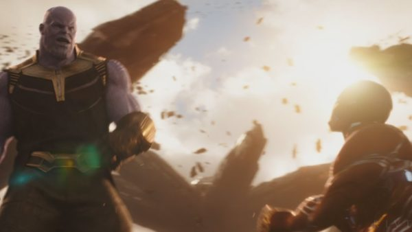 Go behind-the-scenes of the Titan battle with Avengers