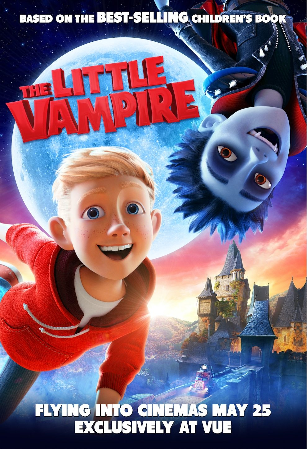 Animated Adaptation Of The Little Vampire Gets A UK Poster