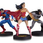 Jim Lee's Superman, Batman and Wonder Woman get DC Collectibles Designer treatment