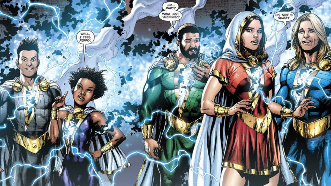 Shazam Adds Four More As It Fills Out The Shazam Family