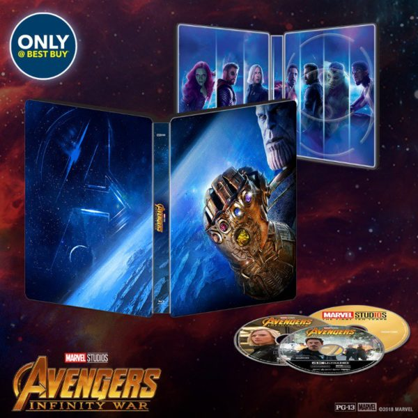 Avengers: Infinity War home entertainment release dates revealed