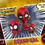 Hot Toys' Deadpool Cosbaby Bobble-Head series revealed