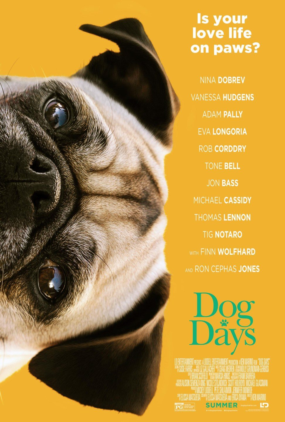 Canine Comedy Dog Days Gets A Trailer And Posters