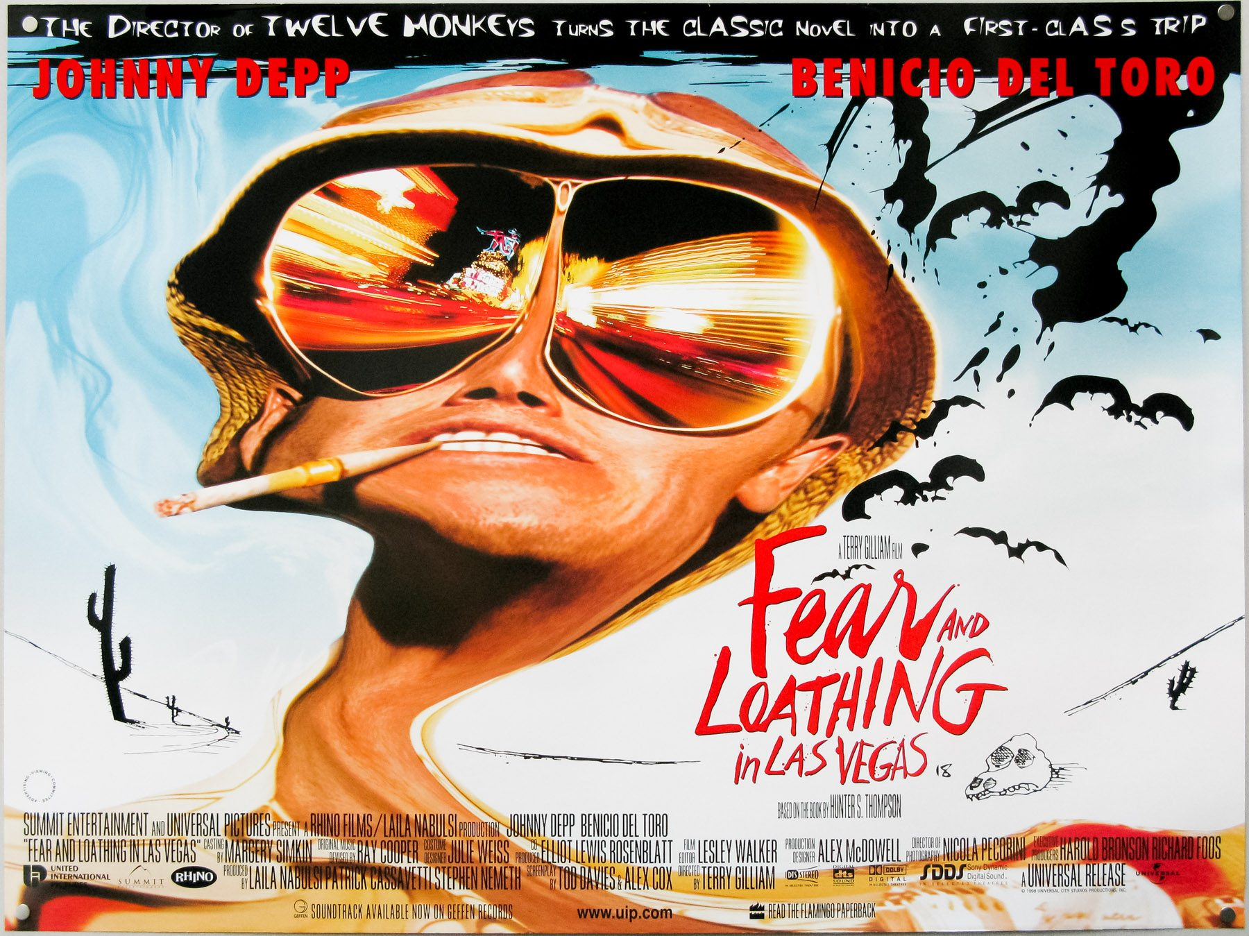 In Praise of Fear and Loathing in Las Vegas