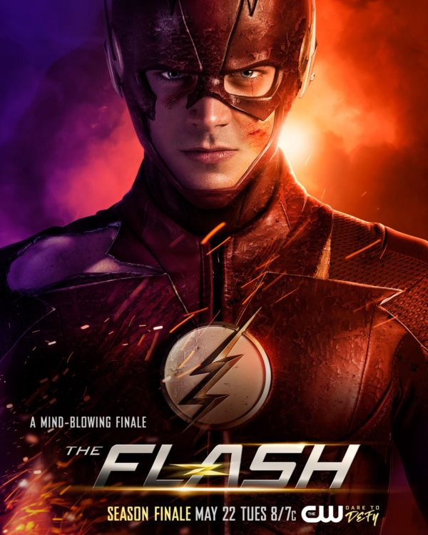 poster and promo images for the flash season 4 finale we are the