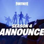 Season 4 of Fortnite starts with a bang