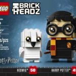 Harry, Hedwig, Hermione, Ron and Dumbledore LEGO BrickHeadz revealed