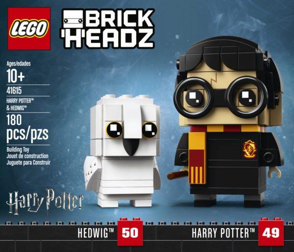 LEGO BRICKHEADZ HARRY POTTER New HERMIONE and RON and DUMBLEDORE