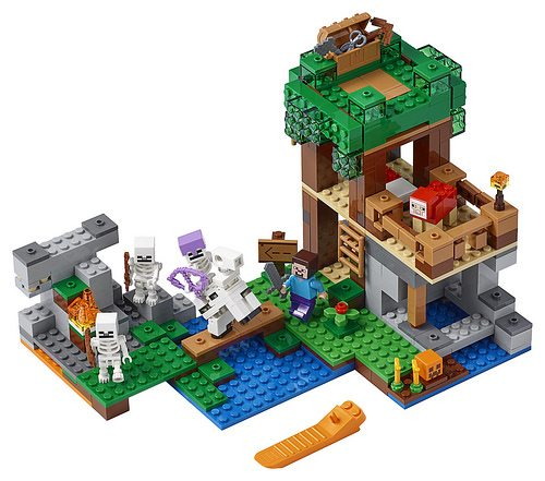 Lego Unveils Three New Minecraft Sets For Summer 2018