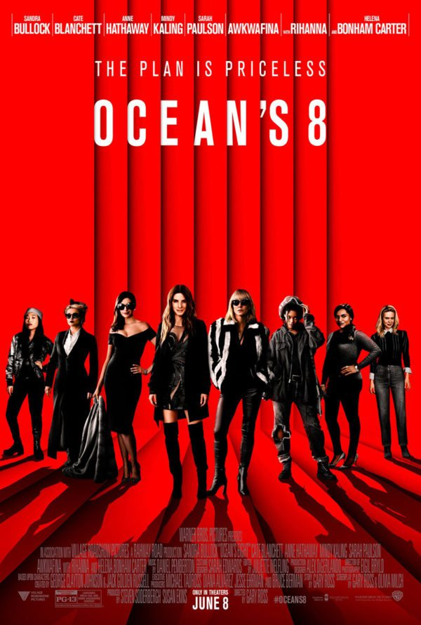 oceans 8 gets a new poster