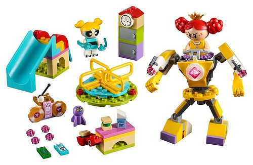 the powerpuff girls get two lego sets