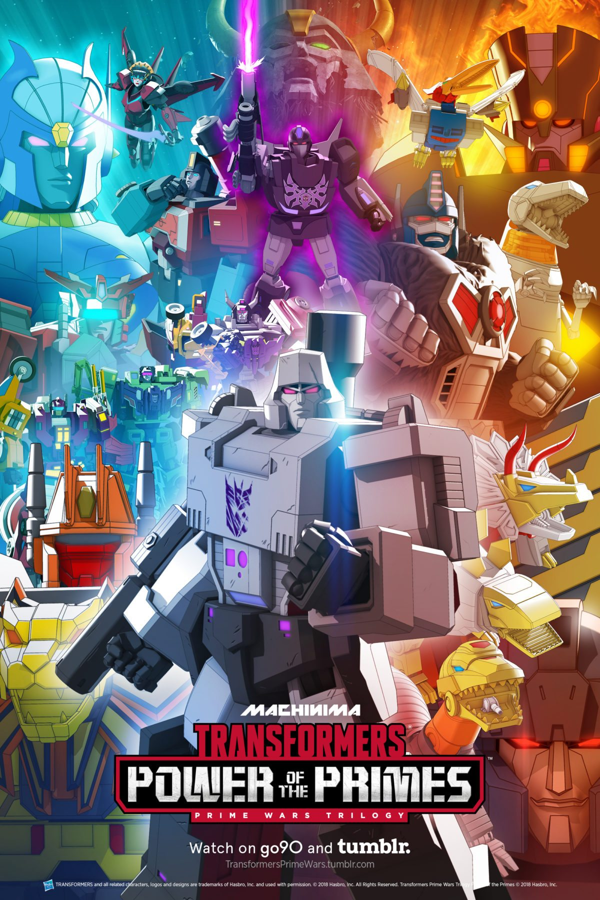 transformers power of the primes launches online Transformers Mirage