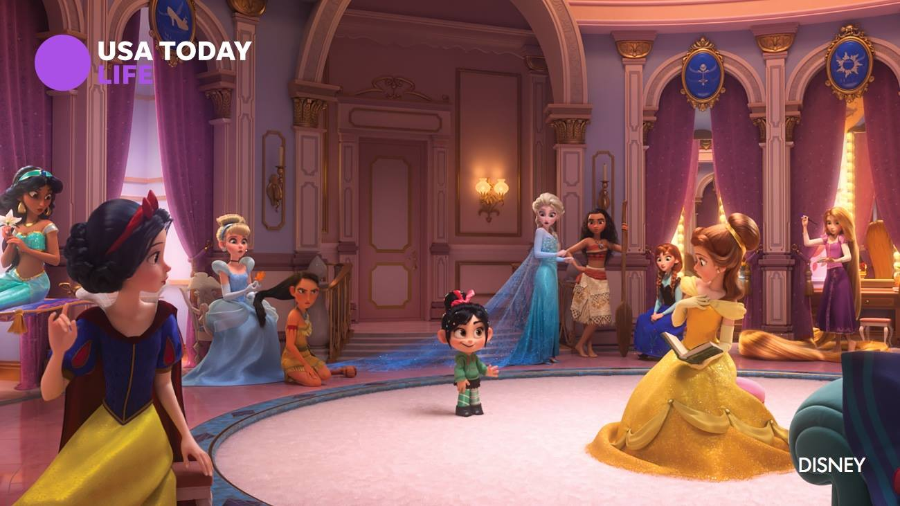 Best Lines From Wreck It Ralph 2: Ralph And Vanellope Meet Disney Princesses In New Ralph