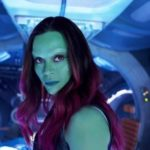 Zoe Saldana has shared her reaction to Gamora's role in Avengers: Infinity War
