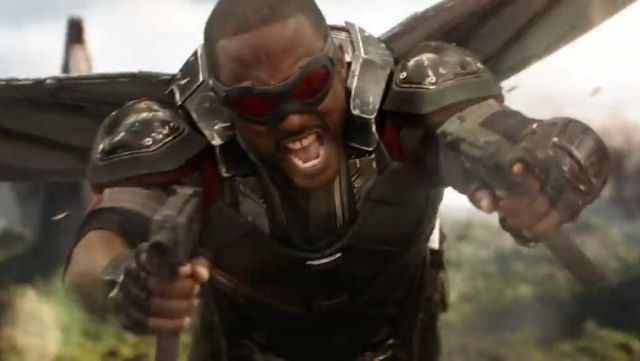 Falcon was originally going to accompany iron man into - Faucon avengers ...