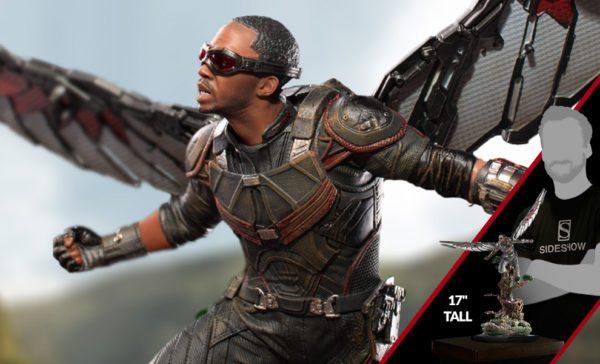Iron studios 39 avengers infinity war falcon battle diorama - Faucon avengers ...