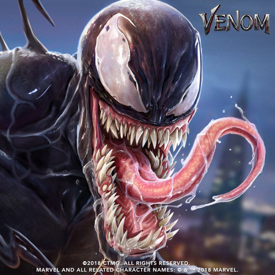 Free Comic Book Day May 2018: New Promo Artwork For The Venom Movie