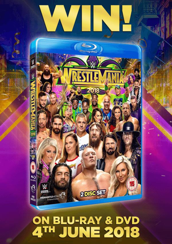 Giveaway - Win WWE WrestleMania 34 on Blu-ray
