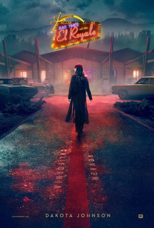 bad times at the el royale gets a series of character posters flickering myth. Black Bedroom Furniture Sets. Home Design Ideas