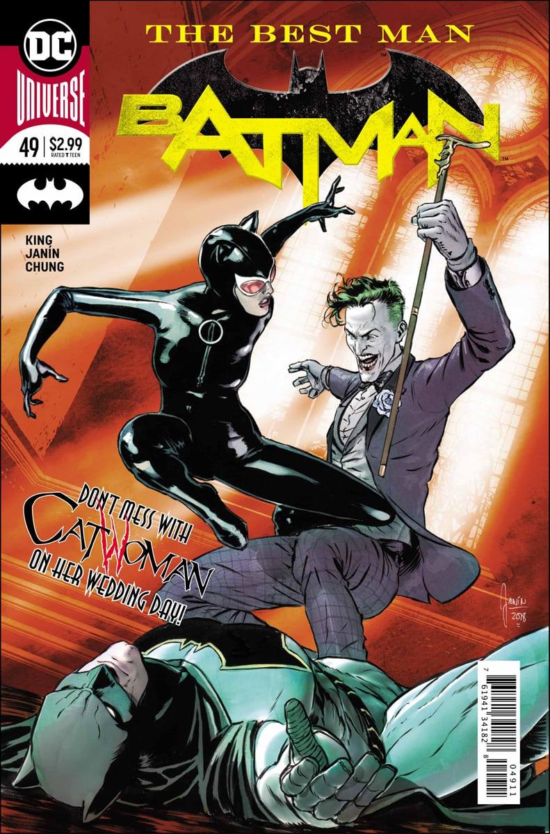 Comic Book Review - Batman #49